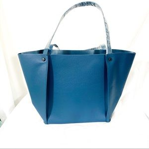 Neiman Marcus - tidal blue small Tote NEW! NWOT